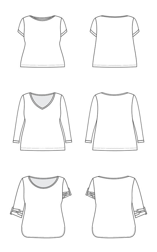 Cashmerette Concord Tshirt